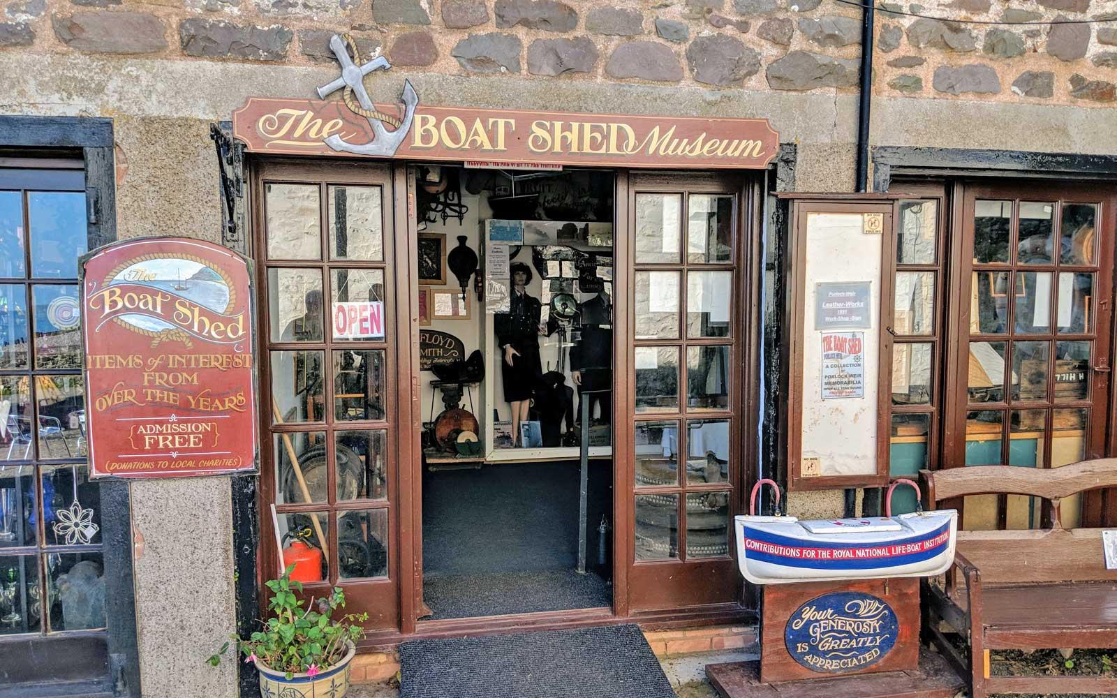 Porlock Weir - Boat Shed Museum